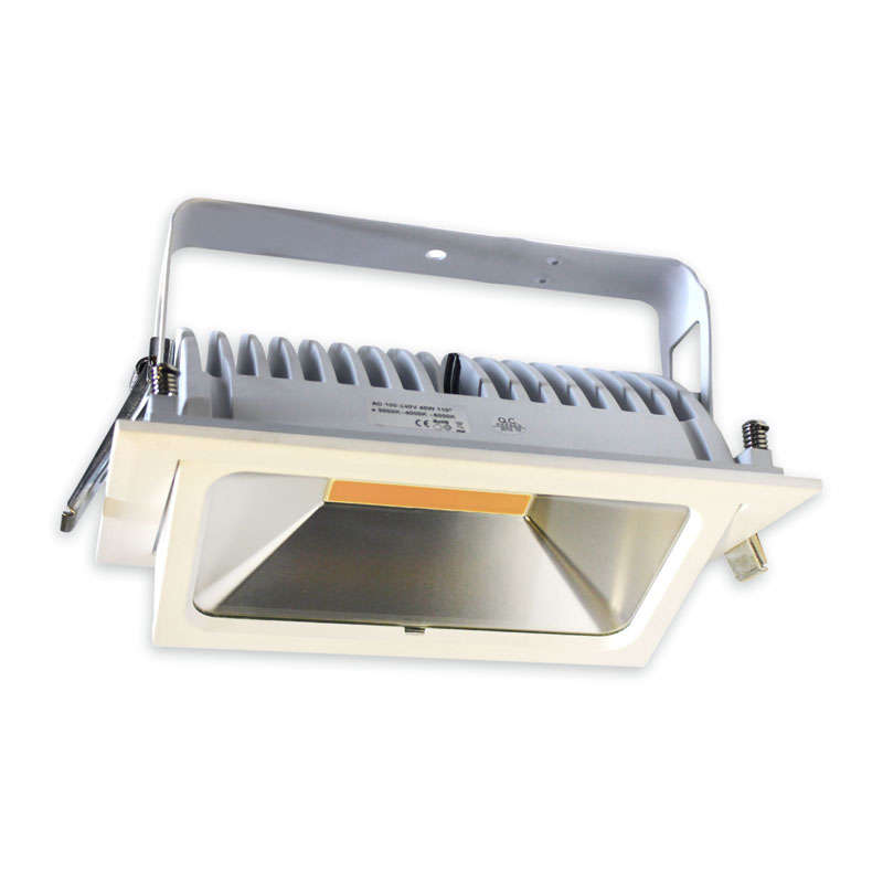 Downlight Led CRONOLUX 40W CREE, Blanco cálido